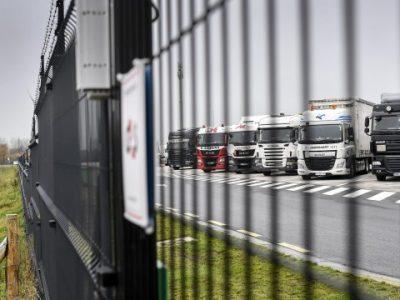 Record: Poliția belgiană a confiscat 142 de camioane aparținând unei companii românești