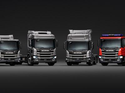 A Scania bemutatja új teherautóit a városi szállításhoz