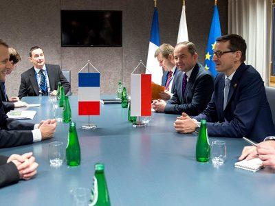 Morawiecki zapowiada twardą walkę o polski transport