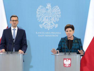 Będzie zmiana szefa rządu. Rezygnacja Szydło przyjęta, Morawiecki na jej miejsce