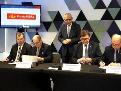 Poczta i PKP będą budować razem centra logistyczne
