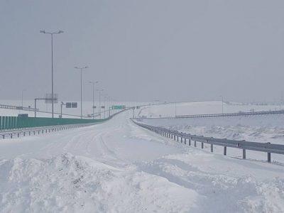 Bulgaria: Trafic afectat de codul portocaliu de ninsoare