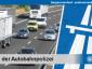 Polizei nach der Lkw-Kontrolle: zu viele Abstandsverstöße
