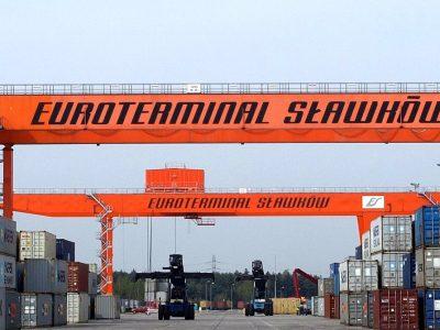 Euroterminal w Sławkowie przyjmie więcej kontenerów? Ta inwestycja w tym pomoże