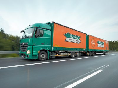 Now long trucks can drive all over Germany. Berlin is the exception
