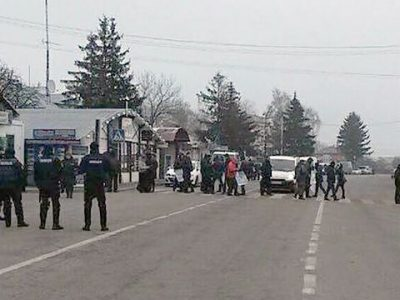 Blokada dróg na granicy polsko-ukraińskiej