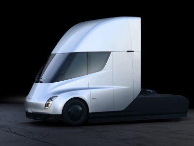 Кто заказал грузовик Тесла и почему? (инфографика)