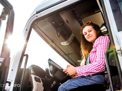 "Free lorry licence training for women. ""Let them take the challenge"""