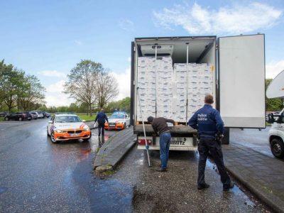 Șofer român atacat într-o parcare din Belgia. Autoritățile declară că parcările vor fi monitorizate pe timp de noapte.