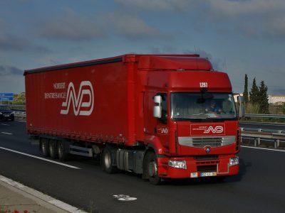 Frankreich: mehr Güter auf der Straße, aber auch größere Konkurrenz