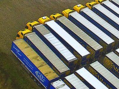 Miért parkoltak Waberer's kamionok egy holland réten?