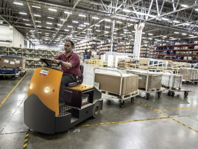 Logistik und Industrie 4.0 in der Praxis. In diesem Lager wird das Tempo von der Temperatur bestimmt