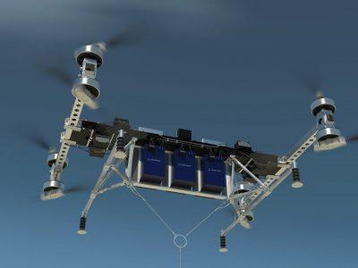 """""""Boeingas"""" sukūrė neįtikėtino efektyvumo mašiną. Pasižiūrėkite, kiek pakelia dronas- žvėris"""
