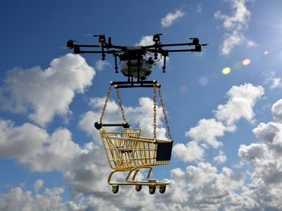 Беспилотник в качестве путеводителя… в магазине! Необычная идея сети Walmart покоряет воображение клиентов