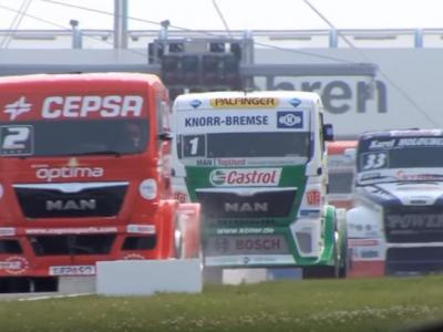 Europejskie wyścigi ciężarówek. Zobacz, jak wyglądają zmagania kierowców