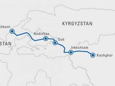 Узбекистан, Кыргызстан и Китай открывают новый маршрут для доставки грузов автотранспортом