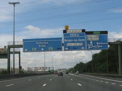 Changes to toll rates in Belgium coming in 2019