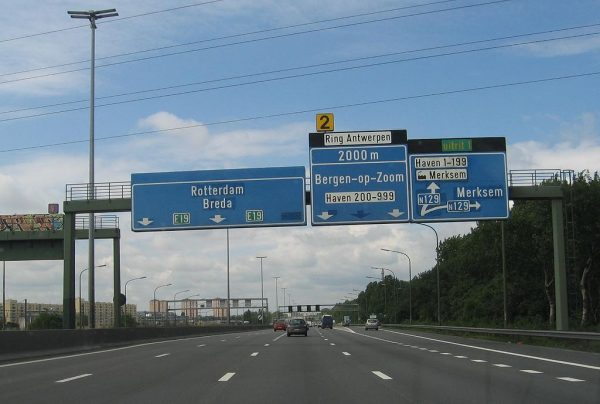 Belgium: even higher penalty for driving in the middle lane