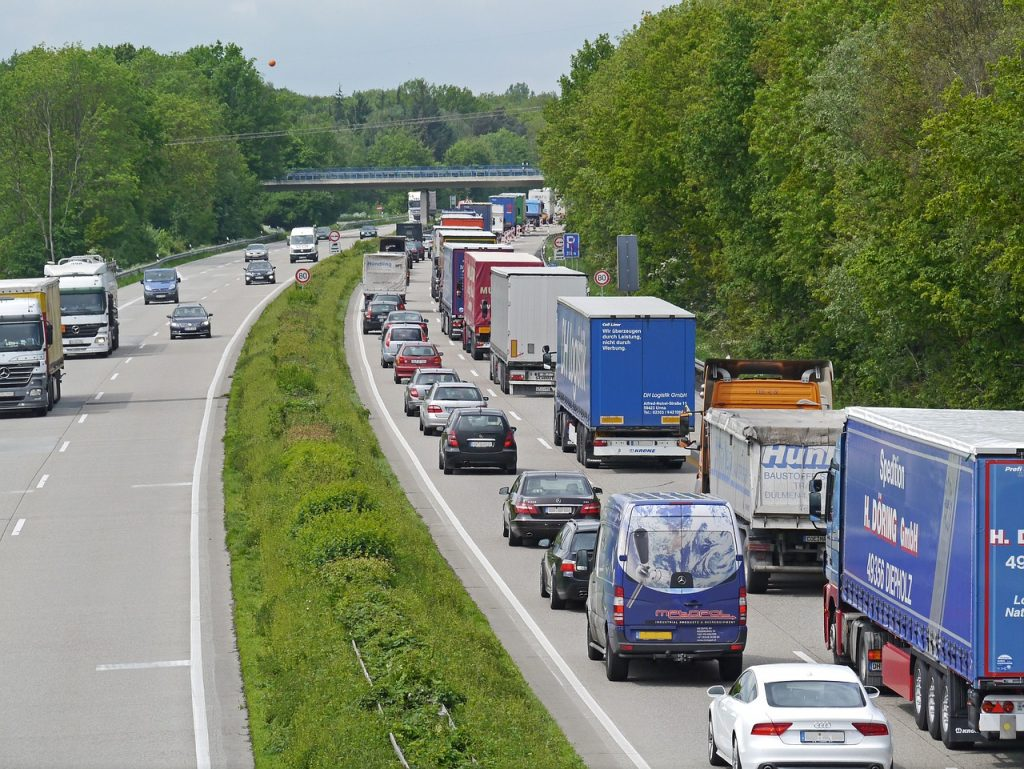 """Duże korki na niemieckiej autostradzie I """"Umowy-pułapki"""" – kolejna odsłona"""