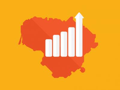 """""""Swedbank"""": Lietuvos ekonomikos augimo tempas yra pakankamas, kad skatintų atlyginimų augimą bei nedarbo mažėjimą"""