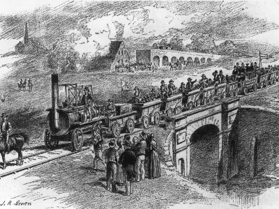 Historia transportu część 3. O tym, jak linie kolejowe pokonały dyliżansy i żeglugę śródlądową