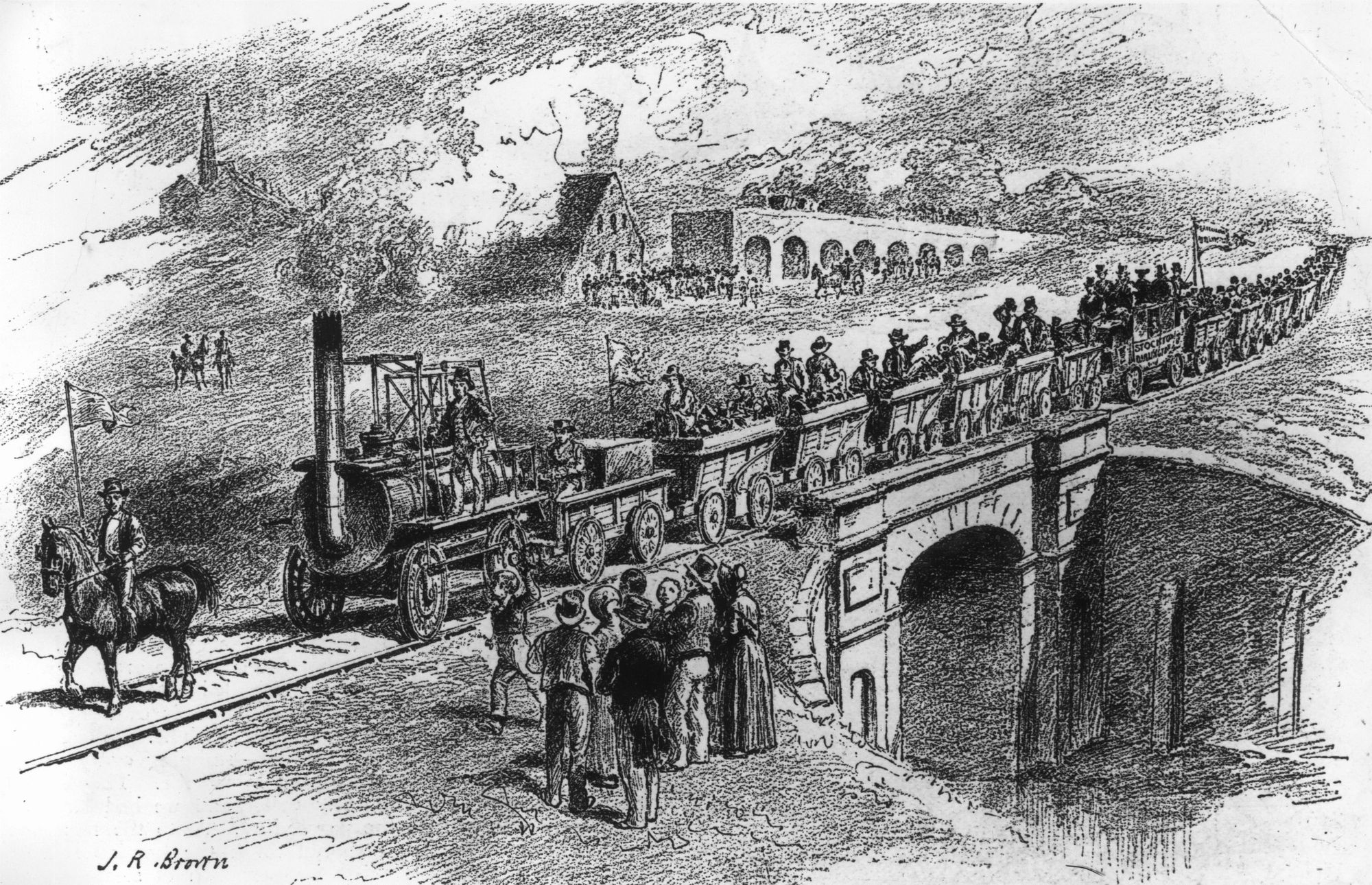 History of transport part 3. How the railway overcame coaches and inland navigation