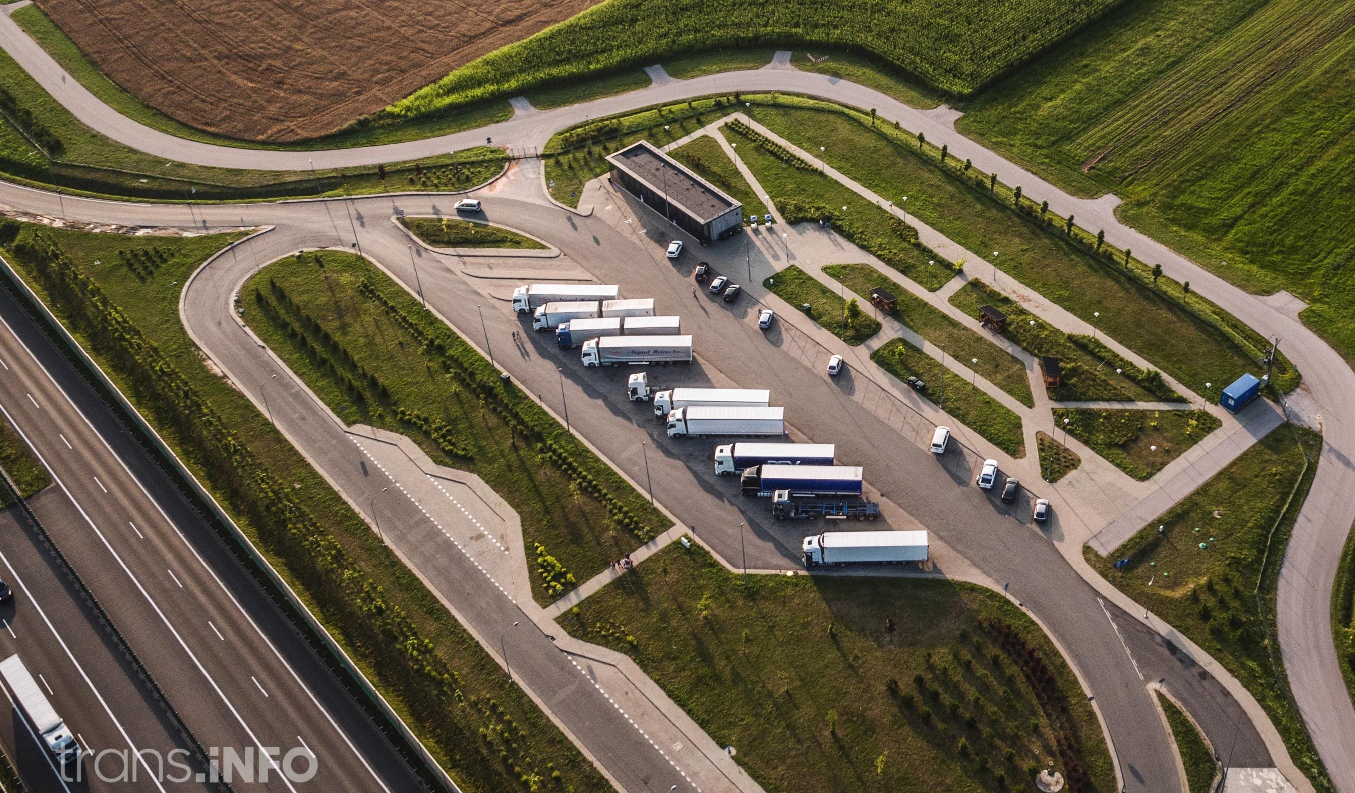 Zakazy ruchu ciężarówek na Węgrzech w 2019 r.
