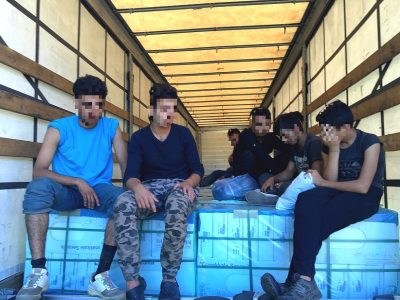 Migrants are targeting UK-bound trucks already in Reims, three hours from Calais