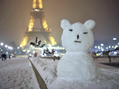 Žiema Europoje. Šiose vietose galima tikėtis eismo sutrikimų