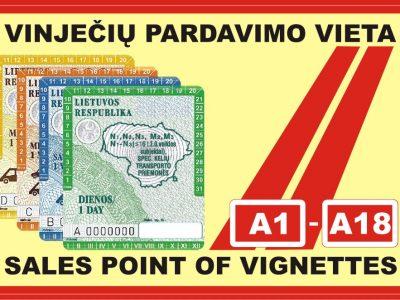 В Литве – только электронная виньетка