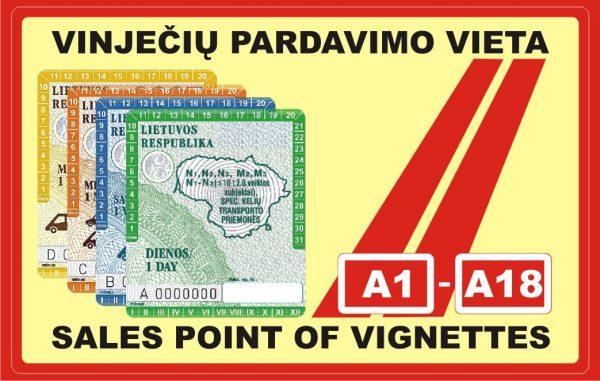 Na Litwie zaczęły obowiązywać elektroniczne winiety. Papierowe zostały już całkowicie wycofane ze sp