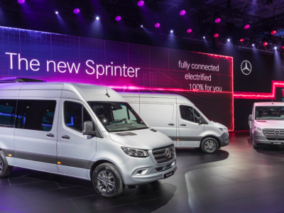 Sprinter najnowszej generacji będzie dostępny w ponad 1 700 wariantach