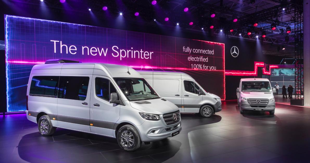 """Naujausios kartos """"Sprinter"""" bus galima įsigyti daugiau nei 1 700 variantų"""