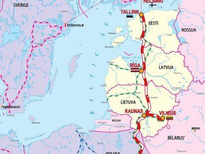 """Suomija dalyvaus """"Rail Baltica"""" projekte?"""