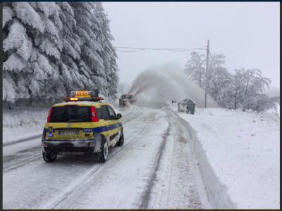 Zima we Włoszech. Zakazy ruchu ciężarówek przynajmniej do jutra