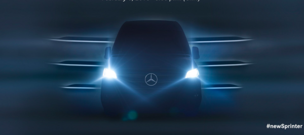 Mercedes-Benz uchyla rąbka tajemnicy przed premierą. Wkrótce poznamy nowego Sprintera