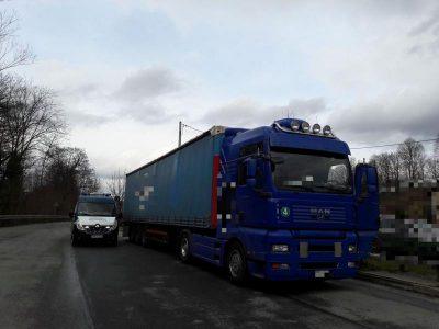 Lietuviškas transportas neįtrauktas į Lenkijos SENT sistemą. Dabar vairuotojas sumokės 1,2 tūkst., įmonė – 5 tūkst. Eur.
