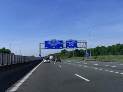 Die französischen Autobahnen wurden teurer