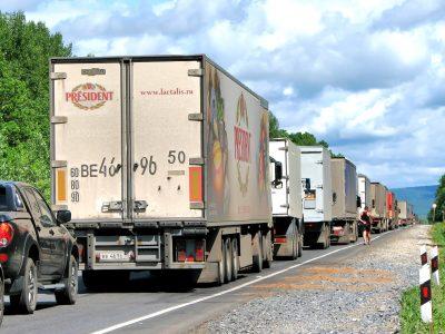 Powstanie system buforowania ciężarówek na granicy z Ukrainą