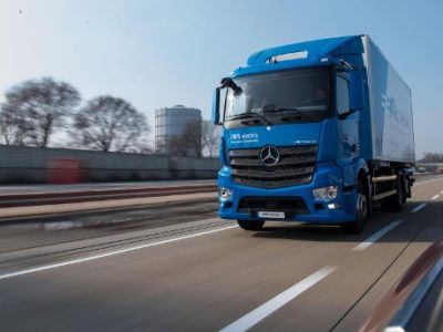Hellmann und Bergisch Achsen KG starten Feldversuch mit nachrüstbarem E-Antrieb für Nutzfahrzeuge