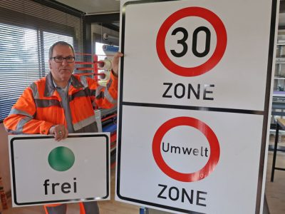 Umweltzone gilt nun auch in Limburg