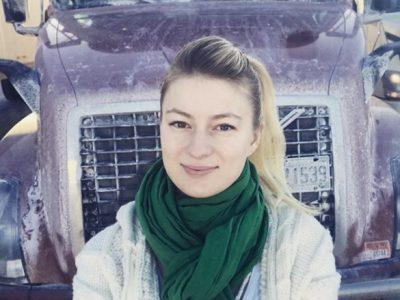 O șoferiță din Polonia ne invită în dormitor