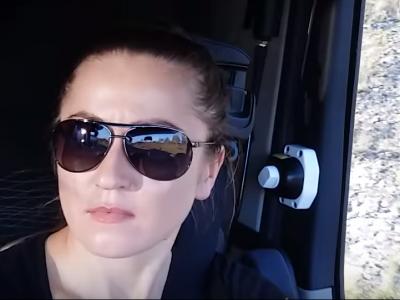 """Ukrainoje padarė doktoratą, bet atvažiavo į Lenkiją ir tapo vilkiko vairuotoja. """"Šis darbas suteikia malonumą ir atneša gerą uždarbį"""""""