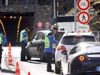 A francia-spanyol határon lévő alagútban csak napi 2x 2 órában mehetnek 19t fölötti teherautók