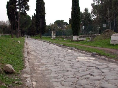 History of transport part 1. From Roman vistas to tarred roads