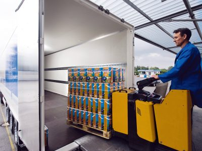 Wie soll Stückgut befördert werden, damit die Ware nicht beschädigt wird