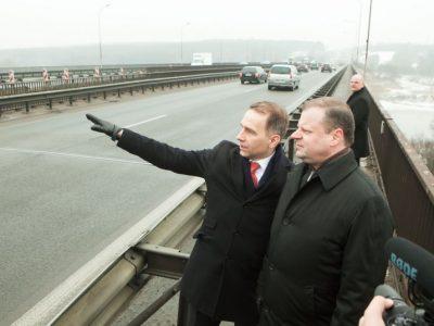 Naujas tiltas ir modernus kelias Kaune už 100 mln. Eur