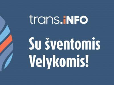 Velykiniai sveikinimai nuo Trans.INFO redakcijos
