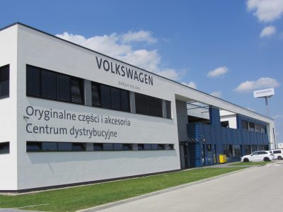 Industrie 4.0 in der Praxis am Beispiel des Volkswagen Distributionszentrums in Komorniki (Polen)
