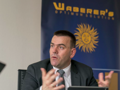 "The East does not compete with the West on drivers' wages. ""The salaries have leveled out,"" says Waberer's chief executive"